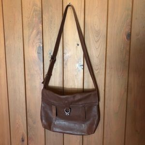 Lucky Brand Leather Messenger Bag